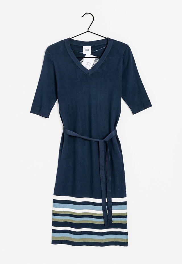 Gebreide jurk - blue