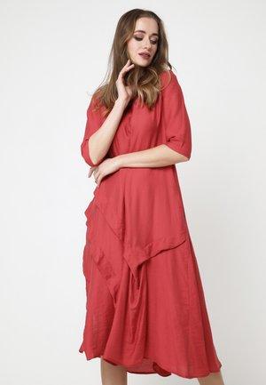 ISABELLA - Day dress - preiselbeere