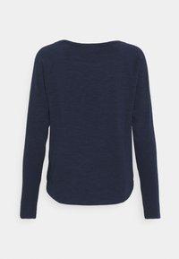 TOM TAILOR DENIM - RAGLAN - Maglietta a manica lunga - real navy blue - 1