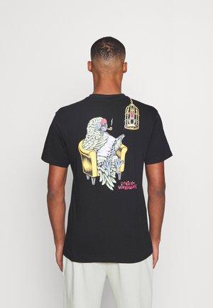 WINKOWSKI BIRDCAGE UNISEX - Print T-shirt - black