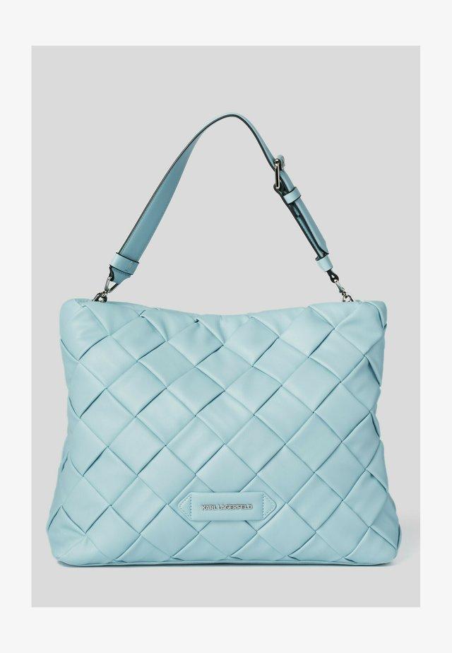 Shopping bag - smoked blu
