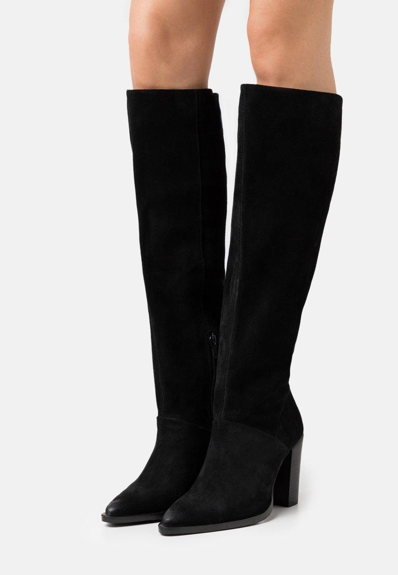 Bronx - NEW AMERICANA - High heeled boots - black