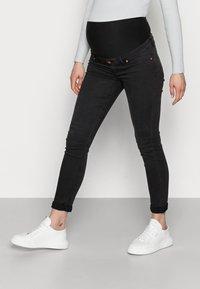 Lindex - TOVA SOFT  - Jeans Skinny Fit - black - 0
