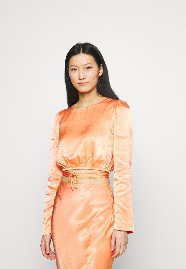 CRAZY FOR YOU - Långärmad tröja - peach