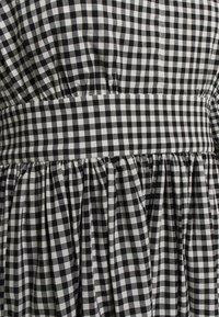 kate spade new york - MINI GINGHAM BODEGA DRSS - Maxi dress - black - 2