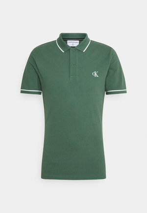 TIPPING SLIM - Poloshirt - duck green