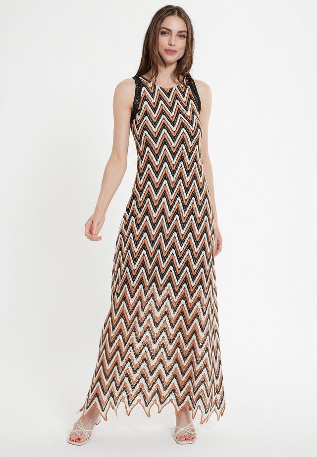 CERLA - Robe longue - braun