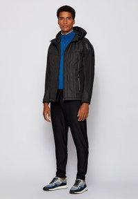 BOSS - J_CERRO - Zip-up hoodie - black - 1