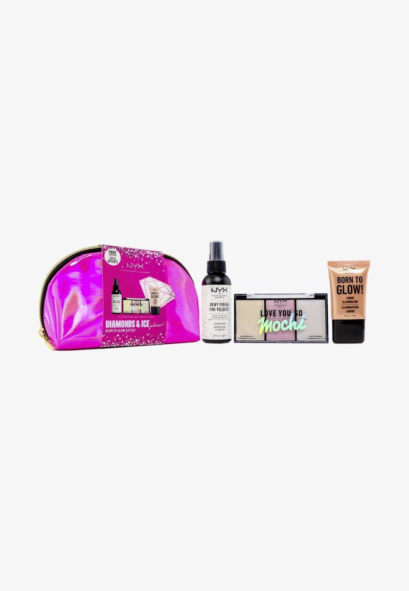 Nyx Professional Makeup - BORN TO GLOW GIFT SET - Makeup set - -