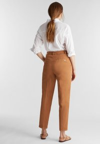 Esprit - FASHION - Trousers - rust brown - 2