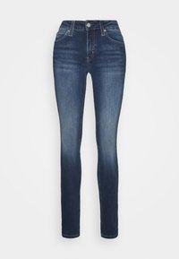 Calvin Klein Jeans - MID RISE  - Skinny-Farkut - mid blue - 4