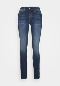MID RISE  - Skinny džíny - mid blue