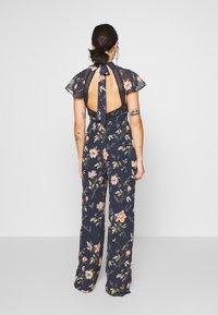 Hope & Ivy Petite - Jumpsuit - dark blue floral - 2