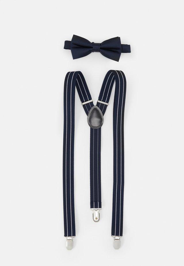 SET - Formální pásek - dark blue