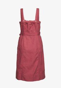 GAP - PANELED APRON DRESS - Denim dress - pink city - 1