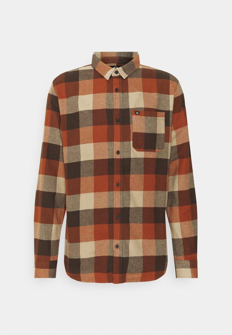 Quiksilver - MOTHERFLY - Shirt - cinnamon
