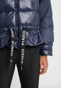 Pinko - TELA - Winter jacket - blue dipinto - 3