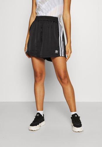 SATIN SHORTS ADICOLOR ORIGINALS LOOSE - Shorts - black