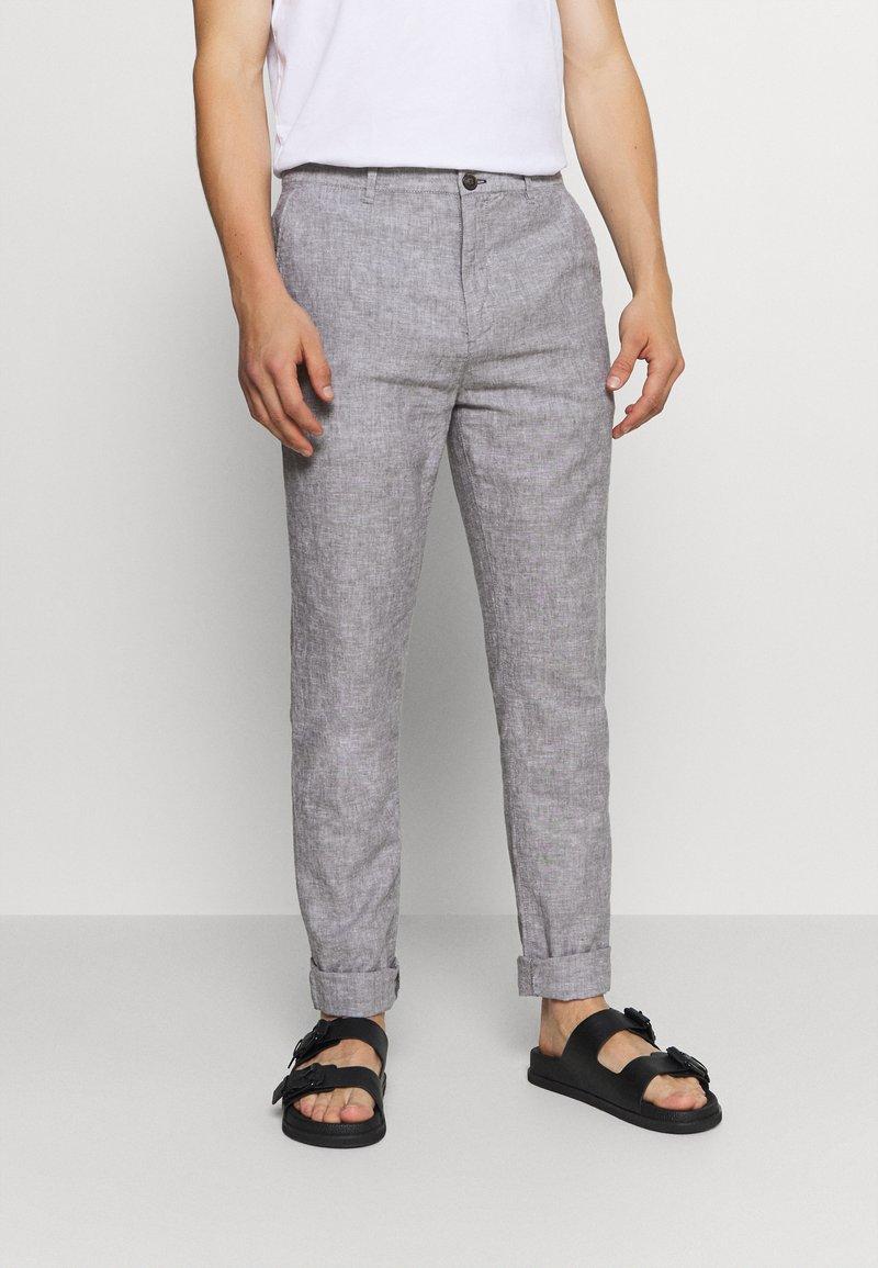 Springfield - PANT TEXTURAS - Trousers - dark grey