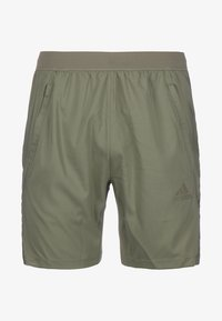 adidas Performance - AEROREADY 3-STRIPES TRAININGSSHORT HERREN - Sports shorts - legacy green - 0