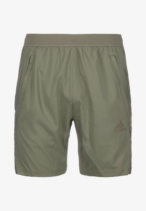 AEROREADY 3-STRIPES TRAININGSSHORT HERREN - Pantalón corto de deporte - legacy green