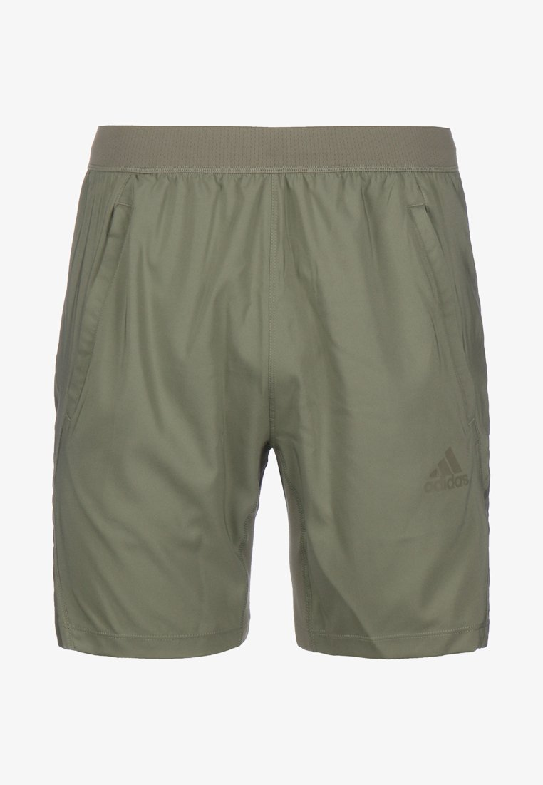 adidas Performance - AEROREADY 3-STRIPES TRAININGSSHORT HERREN - Sports shorts - legacy green