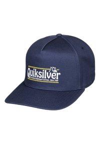 Quiksilver - QUIKSILVER™ WRANGLED UP - SNAPBACK-KAPPE FÜR MÄNNER AQYHA04571 - Cap - majolica blue - 0