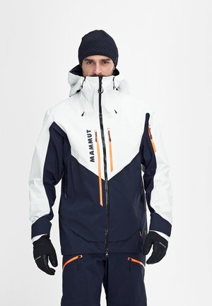 Ski jacket - marine-bright white