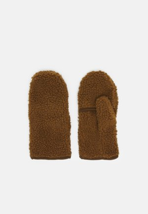 STORM MITTENS - Moufles - brown