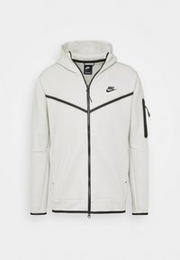 Nike Sportswear - HOODIE  - veste en sweat zippée - light bone/black