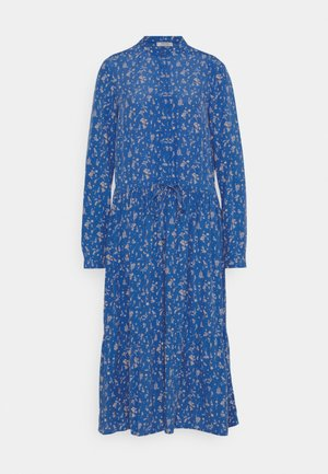 Shirt dress - multi/cornflower