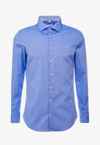 Seidensticker - SLIM FIT SPREAD KENT PATCH - Formal shirt - blue - 4