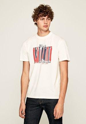 BENTLEY - Print T-shirt - mousse
