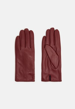 GLOVES - Rukavice - merlot