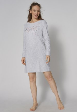 NIGHTDRESSES - Nightie - medium grey melange