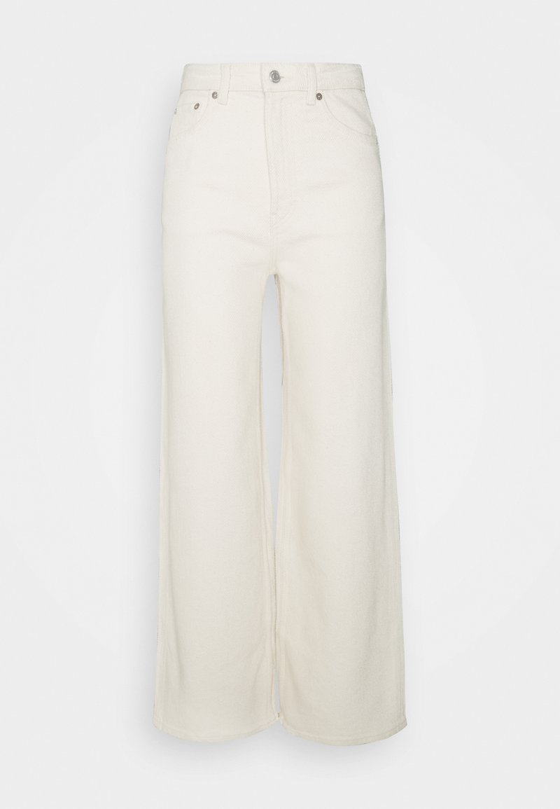 Weekday - ACE - Flared Jeans - washed ecru
