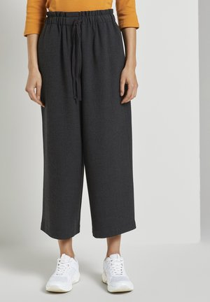 Trousers - shale grey melange