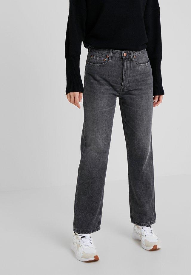 PEARL  - Jean slim - vintage grey