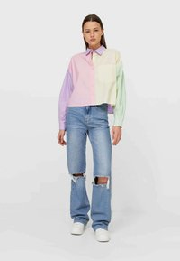 Stradivarius - Button-down blouse - multi-coloured - 1