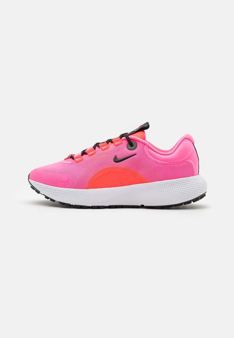 Nike Performance - REACT ESCAPE RN - Neutral running shoes - pink glow/black/bright crimson