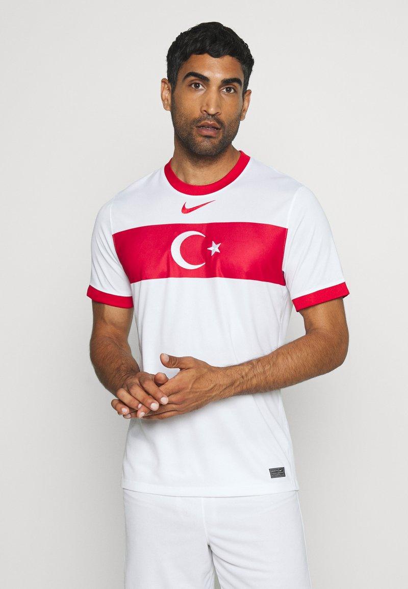 Nike Performance - TÜRKEI HOME - Landsholdstrøjer - white/sport red