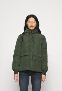 edc by Esprit - JACKET - Winter jacket - khaki green - 0