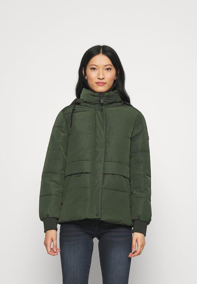 JACKET - Winter jacket - khaki green