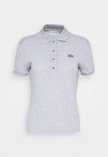 Polo shirt - silver chine