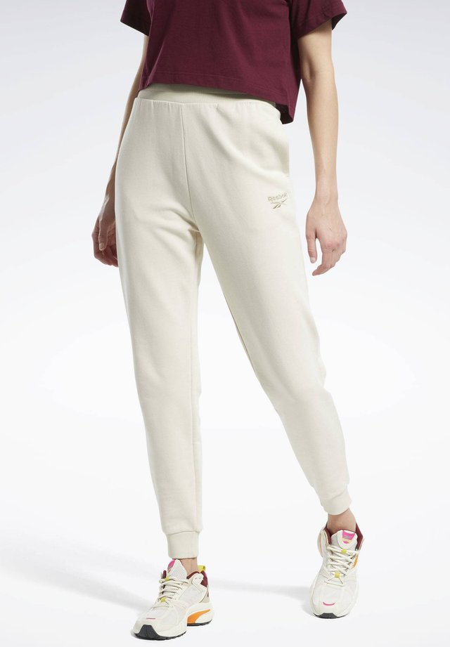 CLASSICS JOGGERS - Spodnie treningowe - white
