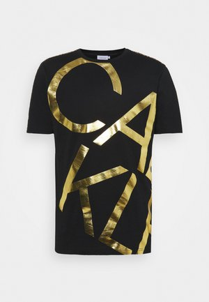 GOLD BIG - T-shirt med print - black