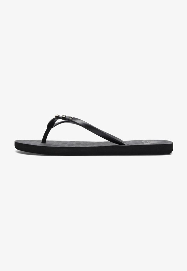 Chanclas de dedo - black