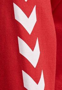 Hummel - HMLGO - Zip-up sweatshirt - true red - 4