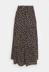 Vila - VIMAY LAYERED SKIRT - Plisséskjørt - black