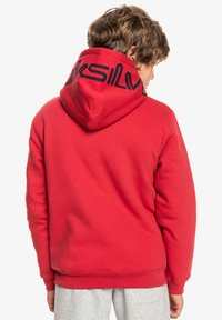 Quiksilver - BEST WAVE YOUTH - Zip-up sweatshirt - american red - 2